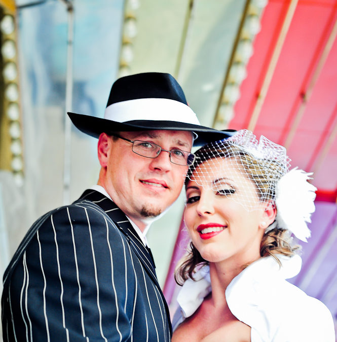 Vegas Pin-Up Wedding  | Anna & Kevin | Teaser | Stratosphere & Freemont