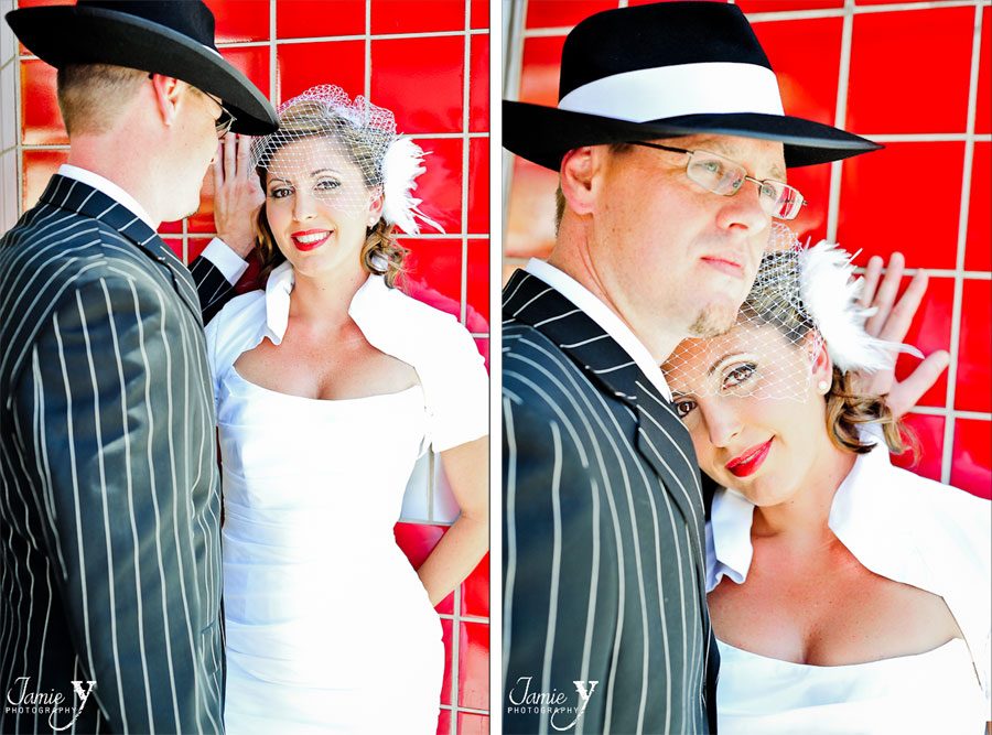 Pin-Up Las Vegas Wedding|Kevin & Anna|Las Vegas Wedding Photographer