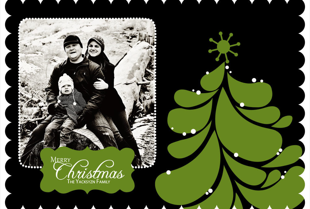 2011 Luxe Christmas Cards | Super Awesome | Mini Session & Portrait Sessions