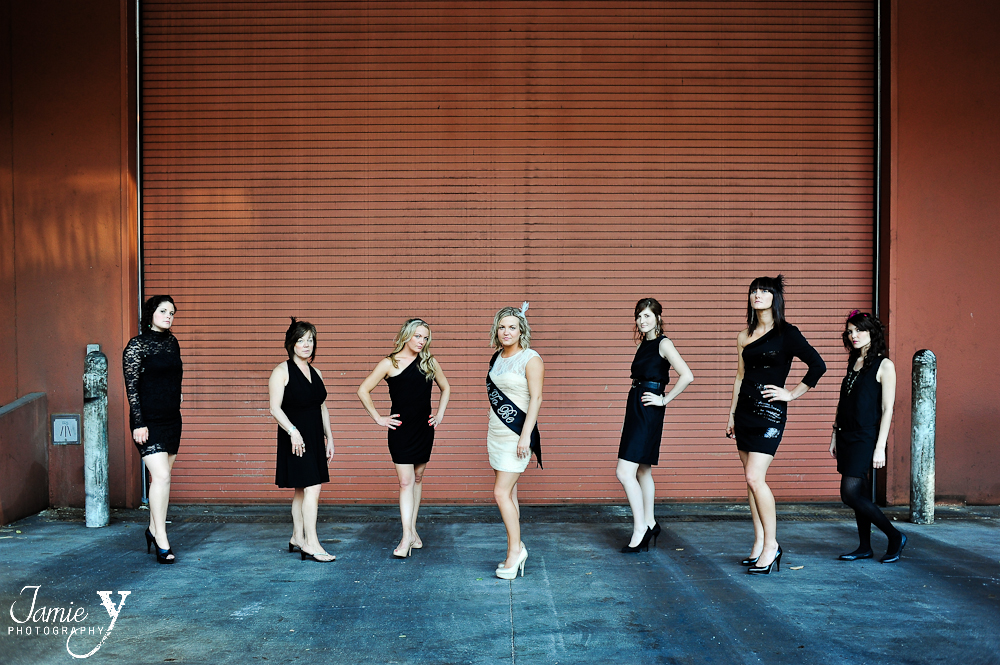 Rebecca's Las Vegas Bachelorette Party|On The Strip|Las Vegas Photography