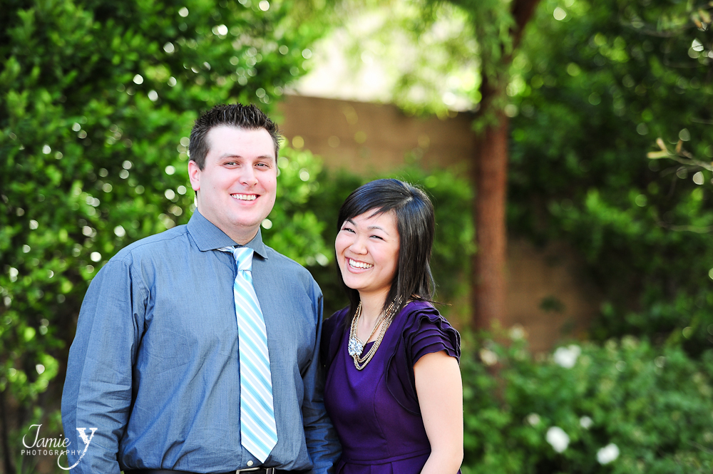 cute engagement photography in las vegas