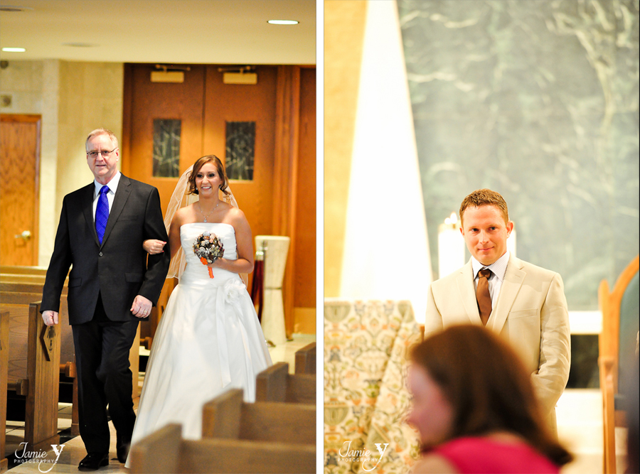 wedding at guardian angel cathedral in las vegas nevada