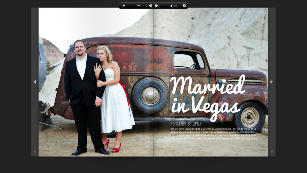 My First Magazine Feature | To & From Magazine | Top Las Vegas Wedding Photographer
