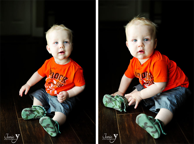 Mylo's 1st Pair Of Shoes | Freshly Picked Moccasins