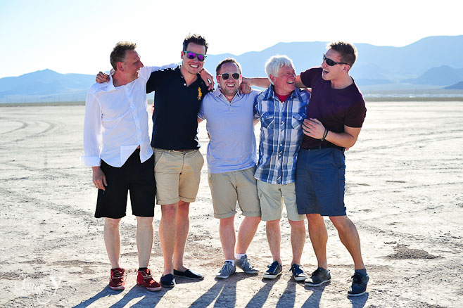 Bachelor Party Photo Shoot | Dry Lake Bed | Las Vegas