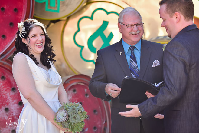 Neon Museum Wedding | Brent & Leigh