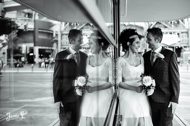 Neon Museum Wedding Pictures | Louise & Kevin