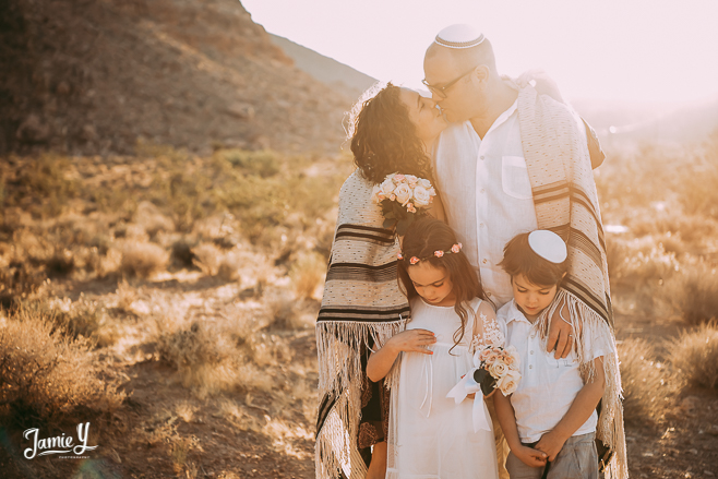Desert Elopement Photography Nevada | Landon & Sharon