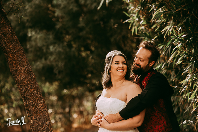 Battlefield Vegas Wedding | Mindy & Dave