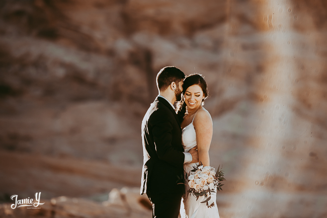 Valley of Fire Elopement | Camille & Annice
