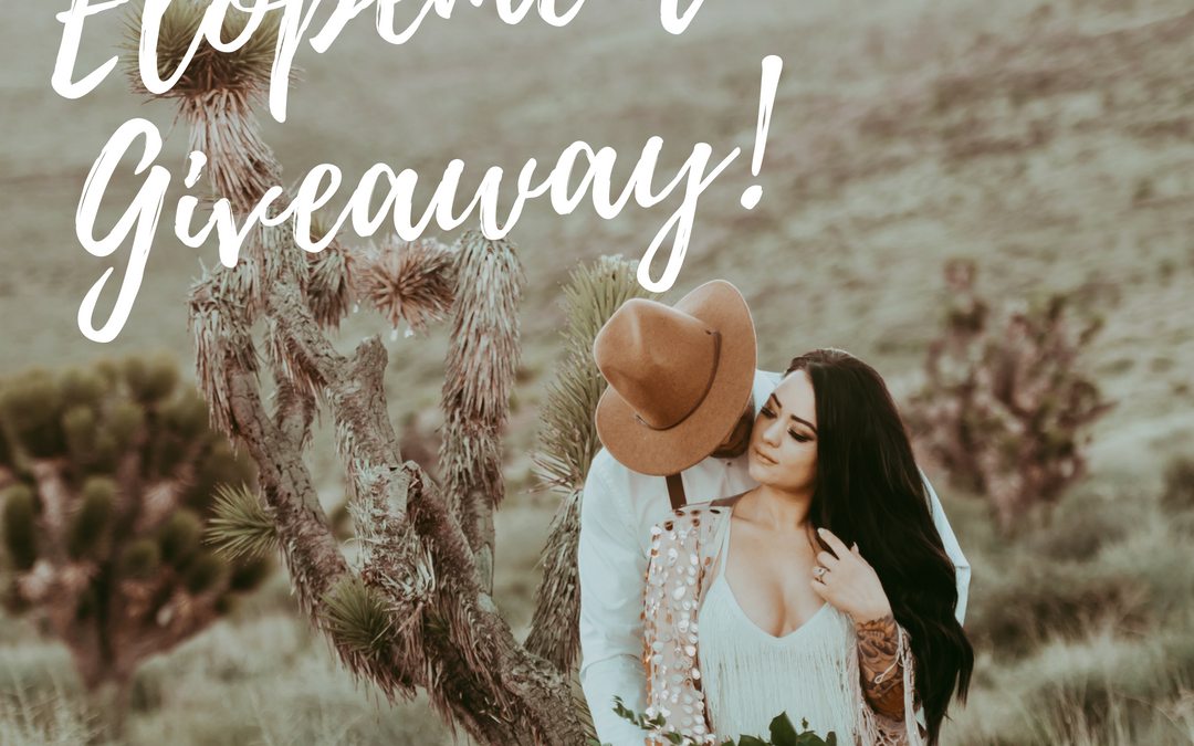 Giveaway! Win a Las Vegas Desert Elopement For This Fall!