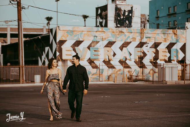 Engagement Photography Downtown Vegas | Meagan & Jerry