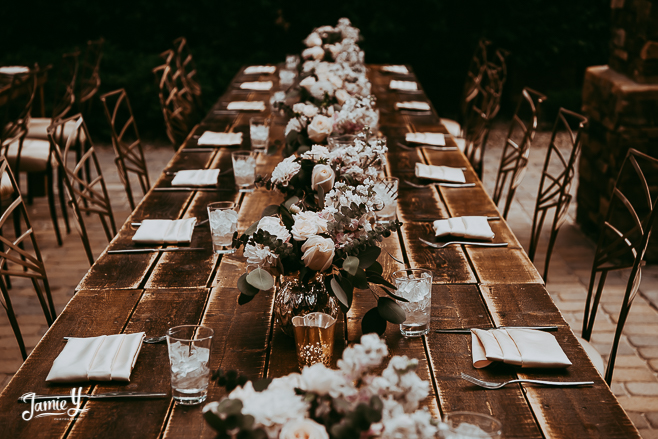 Patio Event At Red Rock Country Club | Bridal Shower