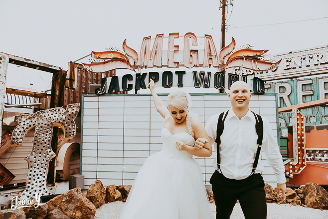 Elopement In Downtown Las Vegas | Kenda & Marcus