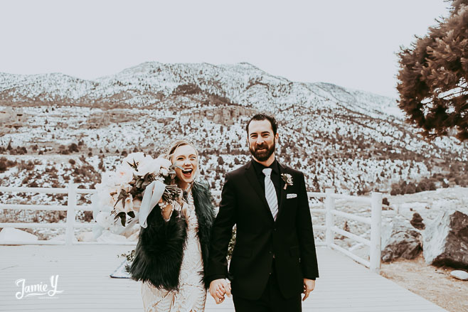 Mt Charleston Elopement Wedding | Ashlyn