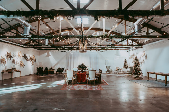 warehouse style wedding venue las vegas