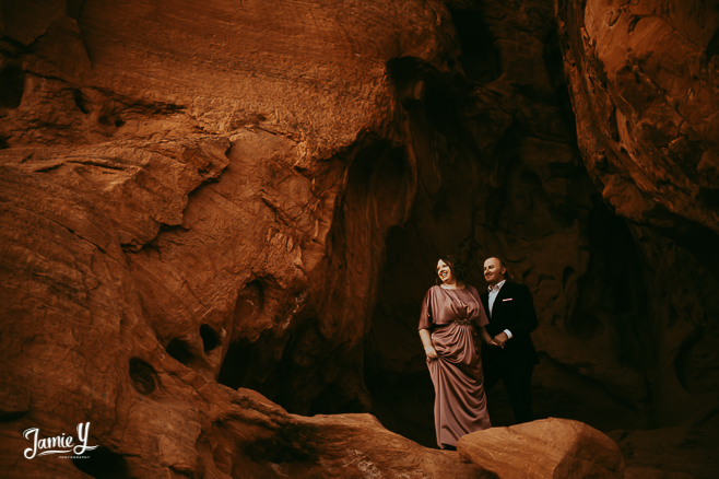 Valley of Fire Vow Renewal | Jenn & Pawel