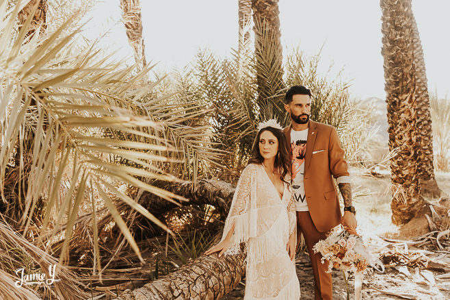 palm tree elopement