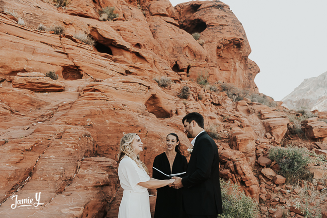 red rock canyon elopement package