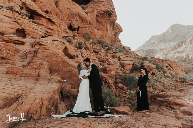 Red Rock Canyon All Inclusive Elopement | Madison & Jackson